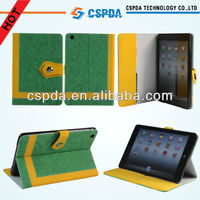 New Arrival Book Canavs Case With Card Slot For Ipad Mini