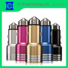 multi-purpose metal case safety hammer oem usb car charger for fancy car