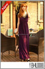 Romantic Rhinestone Dress Purple Dresses Evening Dresses With Stone