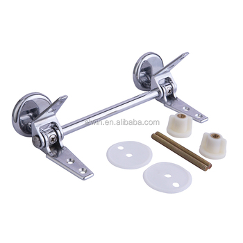 Washable soft closing toilet seats adjustable universal hinges P-810