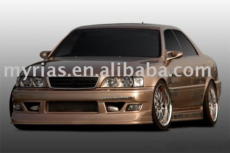 Toyota JZX100 Chaser T-style body kit for front/rear bumper