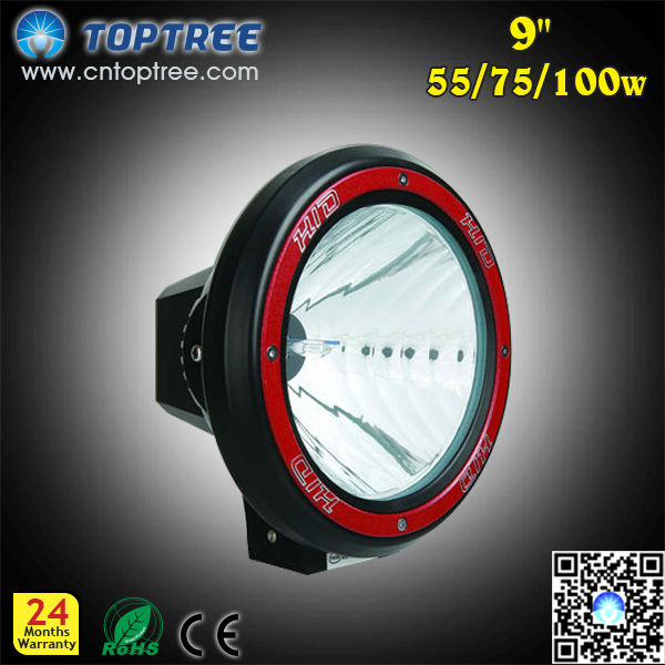Hid Off Road Flood Light Off Road Led Light 12V 55W 75W 100W