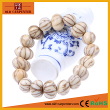 Gold Thread Bodhi beautiful natural colour wooden bracelet jewelry
