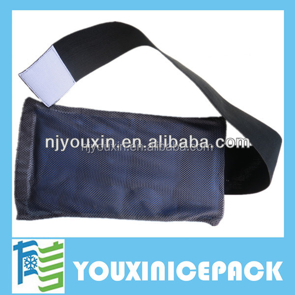 Flexible Gel Ice Pack Wrap with Elastic Velcro Strap