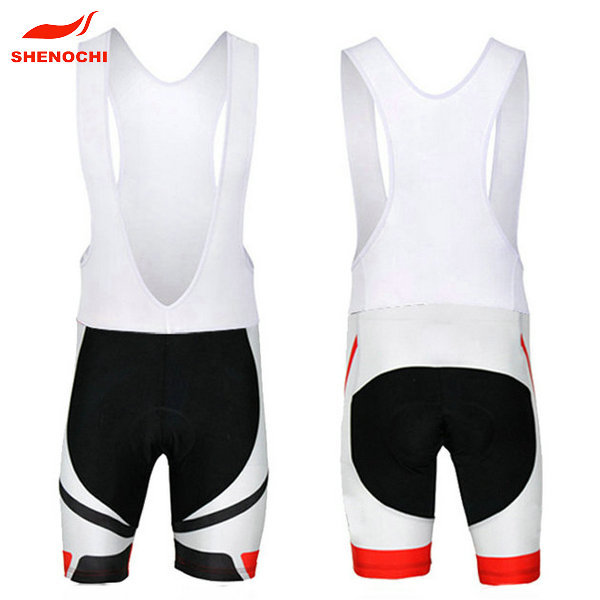 2014 Sublimation Coolmax Cycling Wear / Cycling Pads Chamois Shorts / Cycling Jersey Bib Shorts