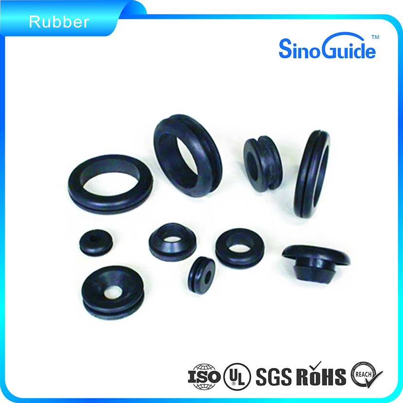 China Manufacturer Customized Oval Rubber Grommet Rubber Gasket