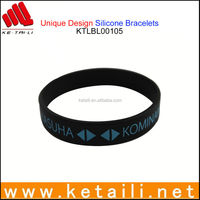 DIY Mosquito Repellent Silicone Bracelet & Wristband with Printed LOGO