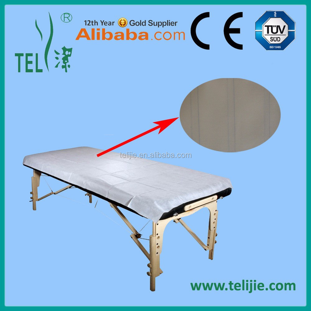 Hospital examination couch covers/disposable massage table cover with trade assurance