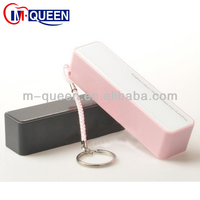 Promotion! keychain perfume mini portable power bank 2600mah for smart phone