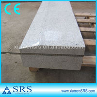 Street polished grey granite curb stones