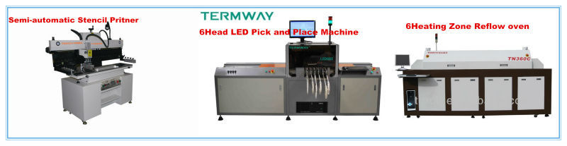 LED Pick and Place Machine / LED Bulb PCB Assemble Line LED660V (Torch)