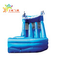 Yuhong summer free Log printing inflatable slide with CE/UL blower