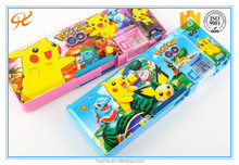 (Hot) 2016 Wholesale pokemon Kids Cheap Stationary Despicable Me Pencil Case, Custom Pencil Box, Carton Pencil Bag