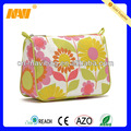 Chinese professional cosmetic bag factory produce canvas cosmetic bag(NV-CS026)