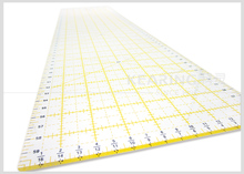 3mm thickness transparent Acrylic patchwork rulers 60*16cm # KPR6016
