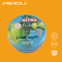 china factory wholesale 150g strong holding fruit fragrance mix box hair styling wax/pomade wax/nitro canada hair wax