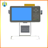 Banking pos system for financial business management with portable thermal printer and 3G/GPRS/wifi GSM pos terminal(Gc056)