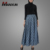 Manxun Nice Quality Best Selling Ladies Thara Lace Overlay Pleated Skirt Islamic Clothing Women Modest Dress