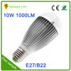 Hot selling products on china market rohs unique designed smd e27 10w led bulb light
