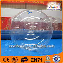 Pop commercial grade CE certificate water bouncing ball
