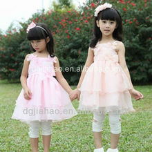 Bowknot famous child clothing kids beautiful model dresses
