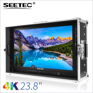 Super clear 4k 3840x2160 resolution monitor lcd 24 inch with peaking overscan check field image flip