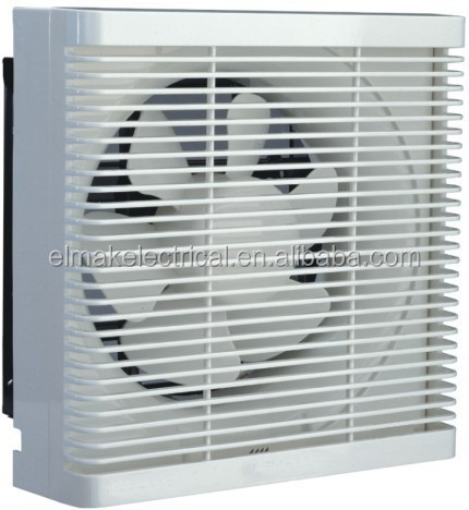 Square type explosion proof exhaust fan with shutters