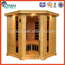 6 persons use outdoor sauna steam far infrared sauna rooms