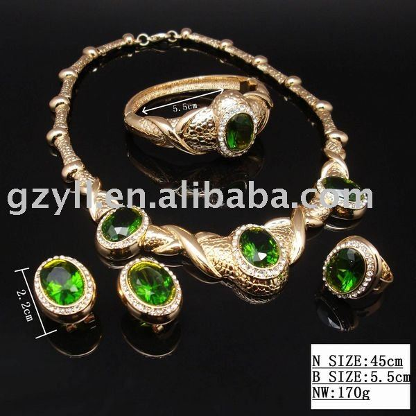 2010 NEW DESIGN charm fashion wedding jewelry sets (necklace,earring,bracelet)