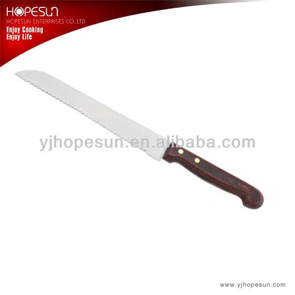Good quality stainless steel bread knife