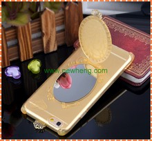 Magic mirror phone case for Iphone 6, cell phone case with mirror for Iphone 6,mobile accessories