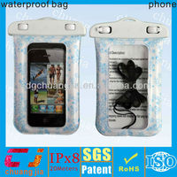 wholesale colorful waterproof smart phone beach case