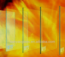 safety fireproof glass
