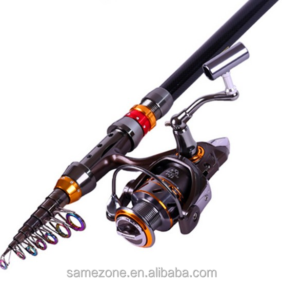 Top 10 telescopic fishing rod spinning fish hand tackle for Best telescoping fishing rod