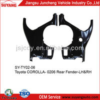 CAR ACCESSORIES REAR FENDER FOR TOYOTA COROLLA 2005