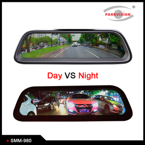 Android GPS 4G Full HD Stream Media Smart Rearview Mirror Monitor System 4 Camera DVR Recording 1920x1080P for Car Reversing Aid