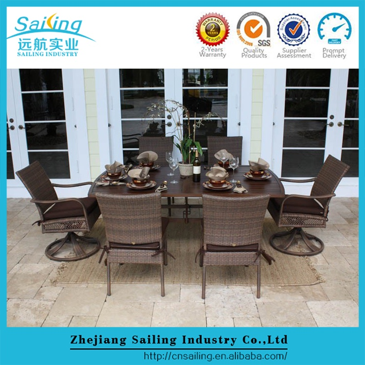 Synthetic Wicker Furniture Rattan Outdoor Cebu Dining Table And Chairs Buy