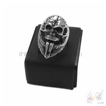 new design rings stainless steel jewelry father's day gift retro skeleton ring