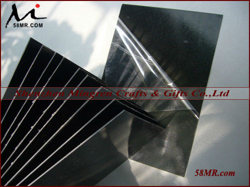 Black and White Double Sides Self-adhesive PVC Sheets,doube-sides self-adhesive black album PVC