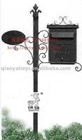Metal Mailbox, wrought iron mail boxes
