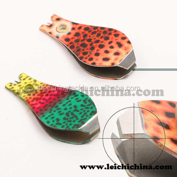 Wholesale round fish skin fly fishing clippers
