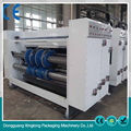 Excellent quality automatic box making machine with print option