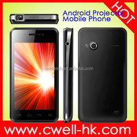 Factory Projector Android Mobile Phone High Quality Unlocked 4.0 inch IPS Dual SIM 3G Smartphone