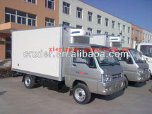 Mini Foton dry cargo transport box truck van