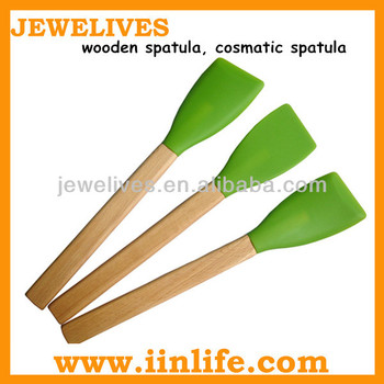 kitchen essential wooden spatula for cooking