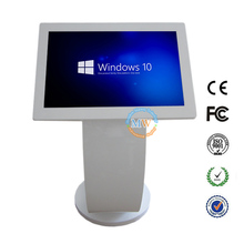 system windows linux 21.5 inch floor stand all in one PC touch screen