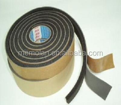 Foam tapes for two layers to fill gap