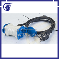 CE,S 2 way universal extension multi socket/exension cord IP44
