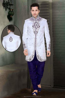 Indian Mens Designer Wedding Sherwani