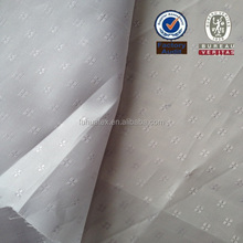 Polyester Dobby Taffeta Fabric with Cat's Foot Pattern